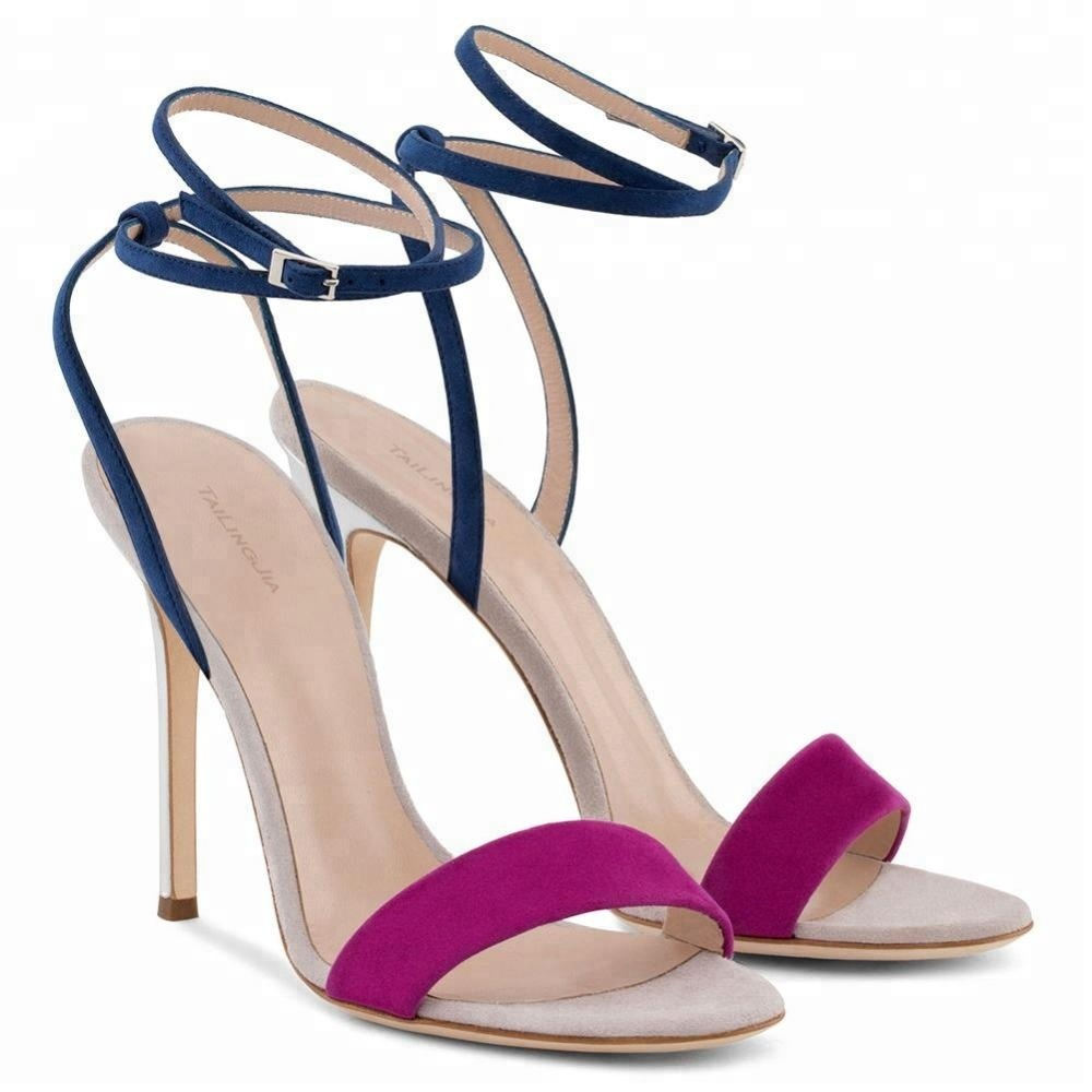 Wholesale Fashion High <strong>Heel</strong> Lady Latest Designs New Model women sandals
