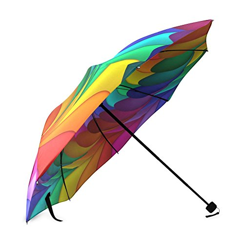 Chinese supplier quality products fashion semi-sex portable tiny pastel umbrellas