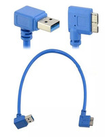 short angle Micro usb 3.0 data charge cable Top quality cabletolink factory