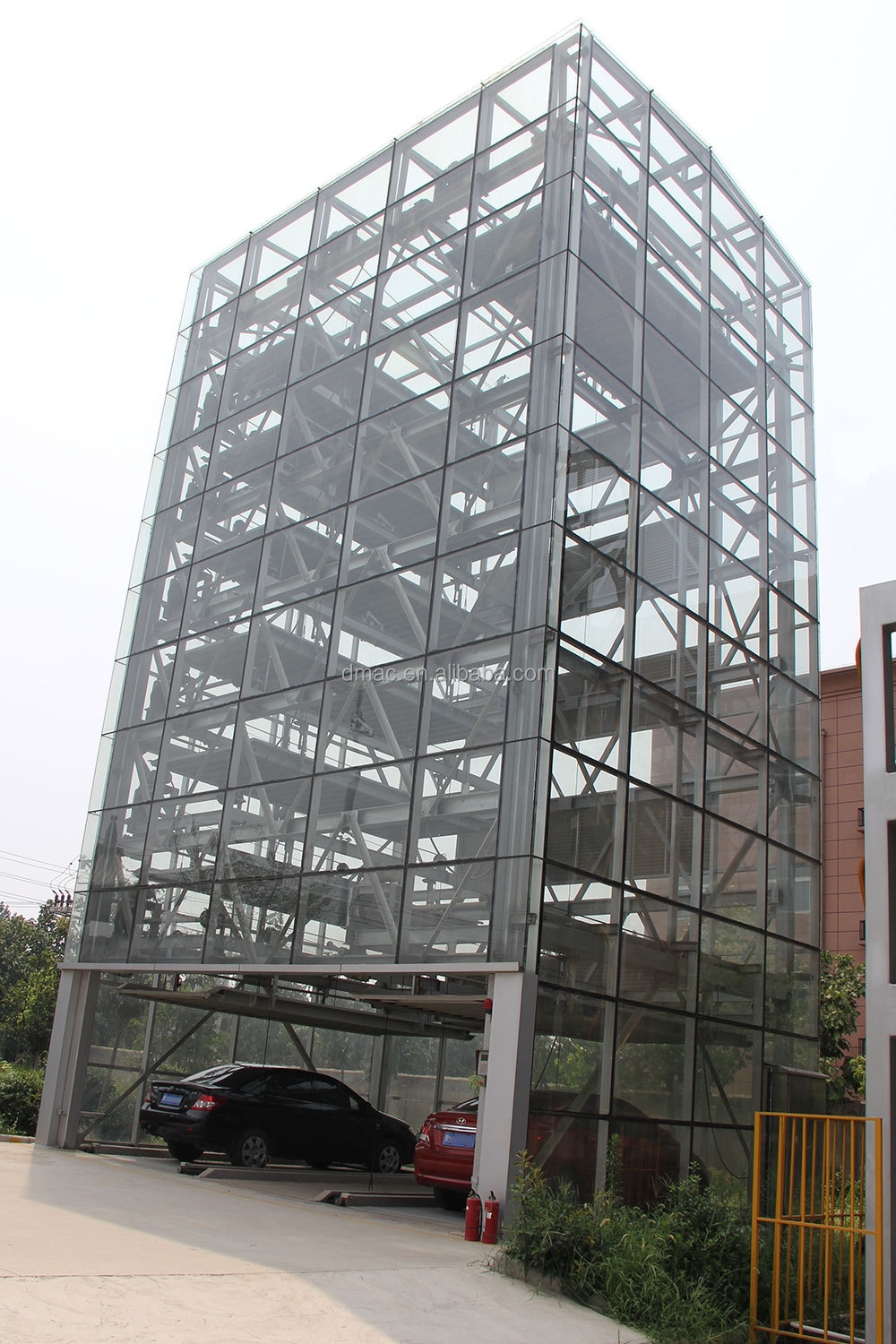 Multi level car lift parking system/automated garage car stacking ...
