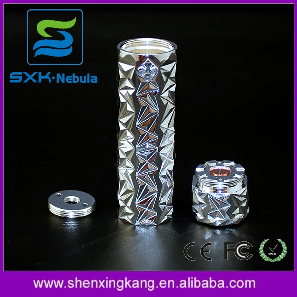 New Negus Mod Silvering 24 mm from SXK Rose gold Negus Mech Mod