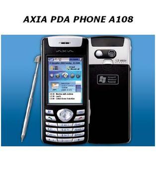 Axia A108 Pda Phone - Buy Axia Pda,Pda  Portable Pc Product on Alibaba com