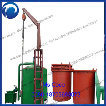 Carbon Blocks Blast Furnace Activated Carbon Furnaces Wood Process ...