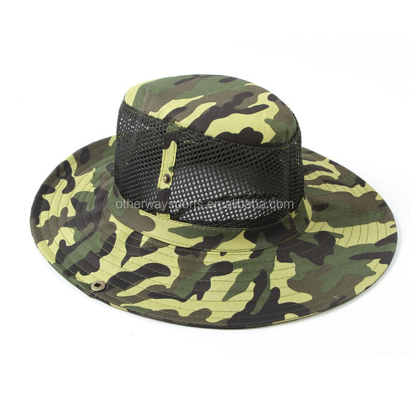 826169ba Custom Camo Army Bucket Hat With String Made In Otherway .