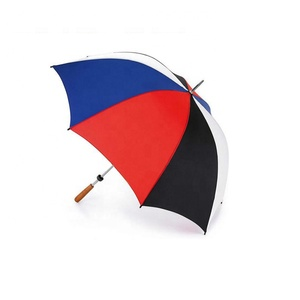 "30"" 16k 4 color steel double ribs high quality golf umbrella"
