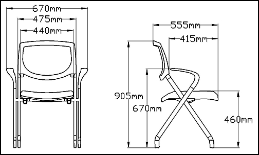 Fabric Metal Folding Seat Meeting Room Study Training Chair Buy Training Ch