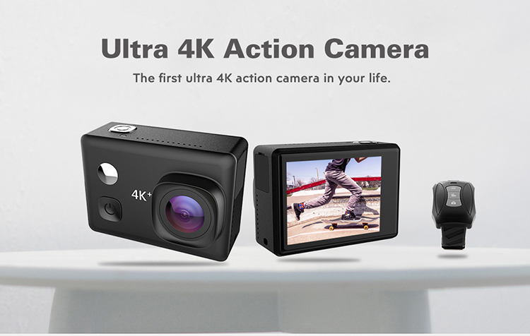 Ultra 4K waterproof action camera with good night vision