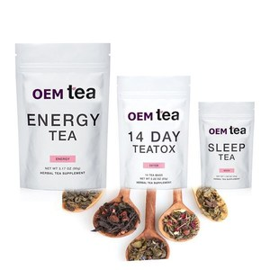 Customized Skinny Teatox Tea Boost Energy Promote Weight Loss