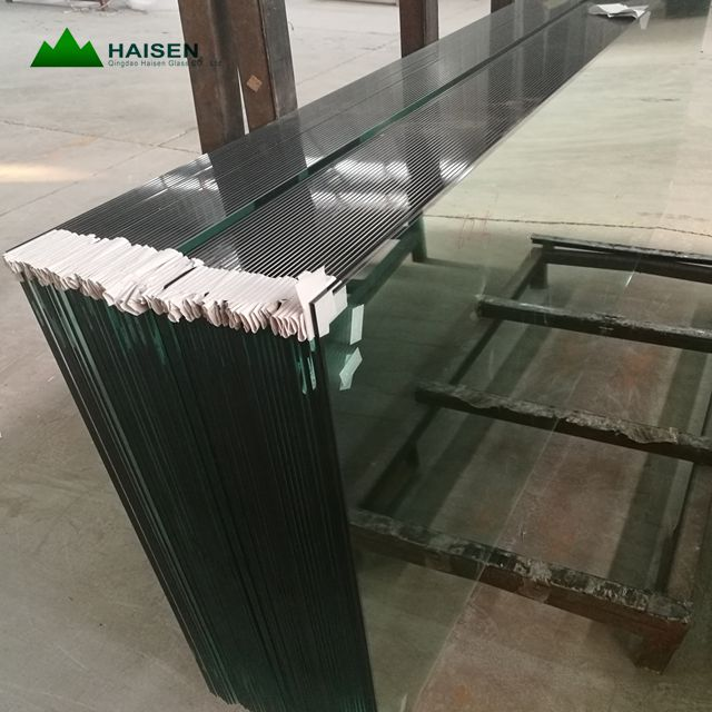 Factory Direct ESG Safety Glass Tempered Glass Price m2