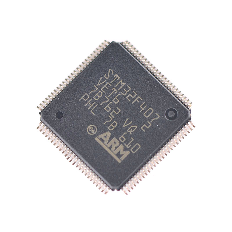 STM32F407VET6 32F407VET6 <strong>ARM</strong> Cortex-M4 32b MCUFPU, 210DMIPS, up to 1MB Flash/1924KB RAM, USB OTG HS/FS, Ethernet, 17 T