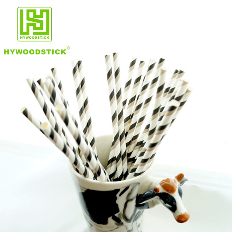 Eco Paper Drinking Straws Biodegradable Logo Available Logo Printing