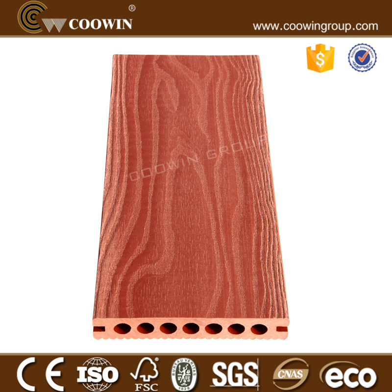 wpc composite outdoor portable flooring with embossed surface