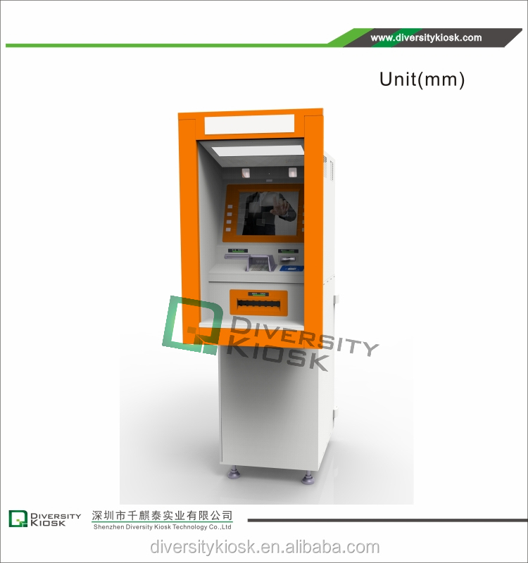 Uninterruptable Power Supply atm motorized card reader information kiosk atm finance kiosk
