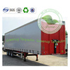 Custom Flame Retardant PVC Tarpaulin Truck Body Container Curtains