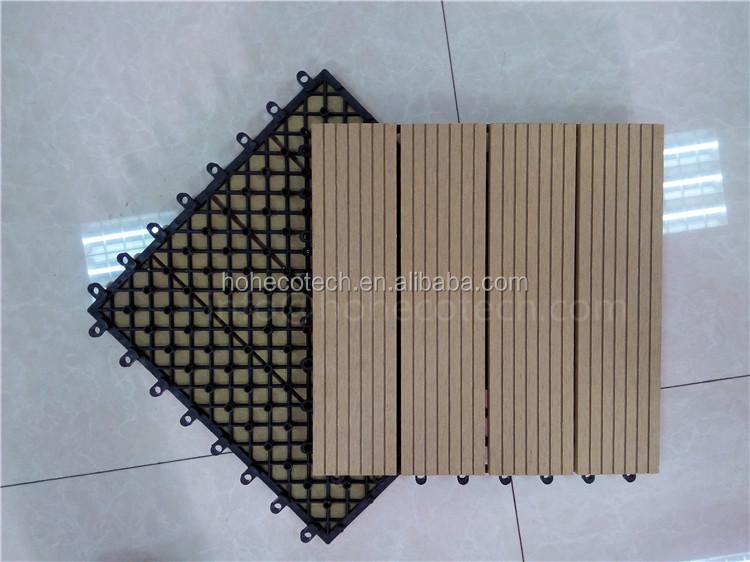 Piastrelle in legno ad incastro set piastrelle pavimentazione da