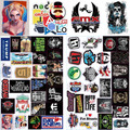 53 Pcs Stickers Funny Jdm Home Motorcycle Bicycle Laptop Phone Cartoon DIY Sticker Toy Number Skateboard