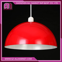 Home decoration industrial dome metal lampshade