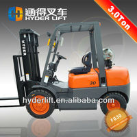 The most widely used gasoline fork lift truck