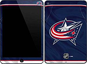 NHL Columbus Blue Jackets iPad Mini 4 Skin - Columbus Blue Jackets Jersey Vinyl Decal Skin For Your iPad Mini 4