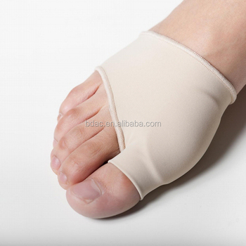 soft mo gel sleeve with gel pad on big toe part gel toe protector
