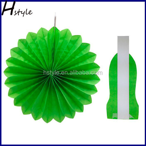 Tissue Paper Fan Flower Themed Party Wedding Home Garden Decorations SD003