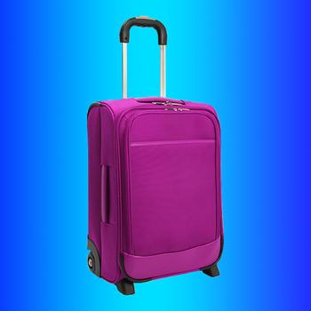 1d2009c23058e Polyester rulo arabası bagaj, kumaş haddeleme tekerlekli bavul seti,  yolculuk Kabin dik çantası maleta