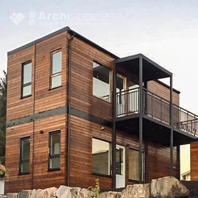 Prefab ngôi nhà gỗ với nhà modular modular căn hộ