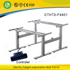 Intelligent heig height adjustable desk leg with stand & 4 riser for office table for two peoples