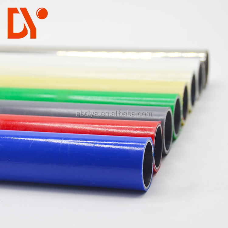 DY188 Industrial equipment materials diameter 28mm colour steel lean pipe for ESD workbench