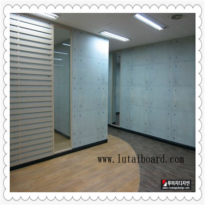 Colored Cement Board Partition Exterior Wall Cladding Flooring Drywall Clean Water Waterproof
