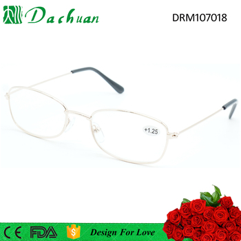 Most Hot Sale Metal Cheap Full Frame Old People Reading Glasses ...