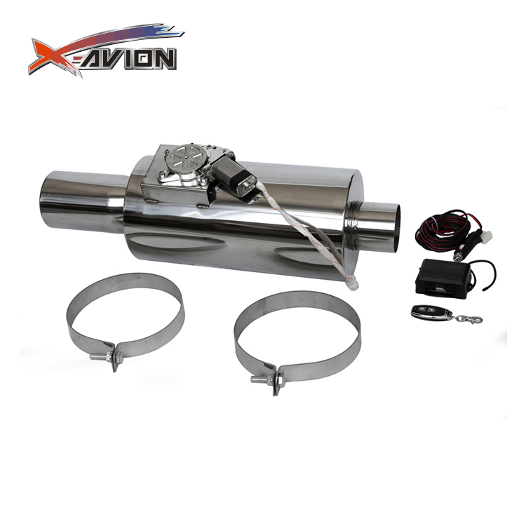"Muffler Round 3"" Generator Exhaust Pipe,Adjustable Remote Controlled Unit ,Remote Control Muffler"
