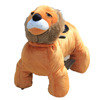 Popular plush lions model electric cars for adult and kids riding