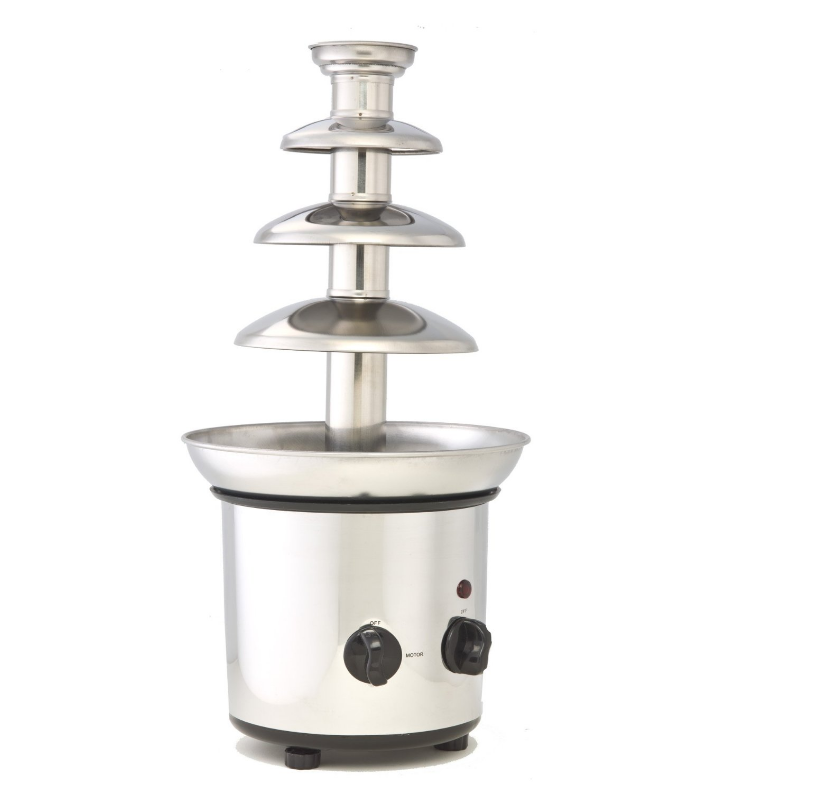 Chocolate Fountain Commercial Restaurant Grade 5 Tiers Stainless Steel Appliance