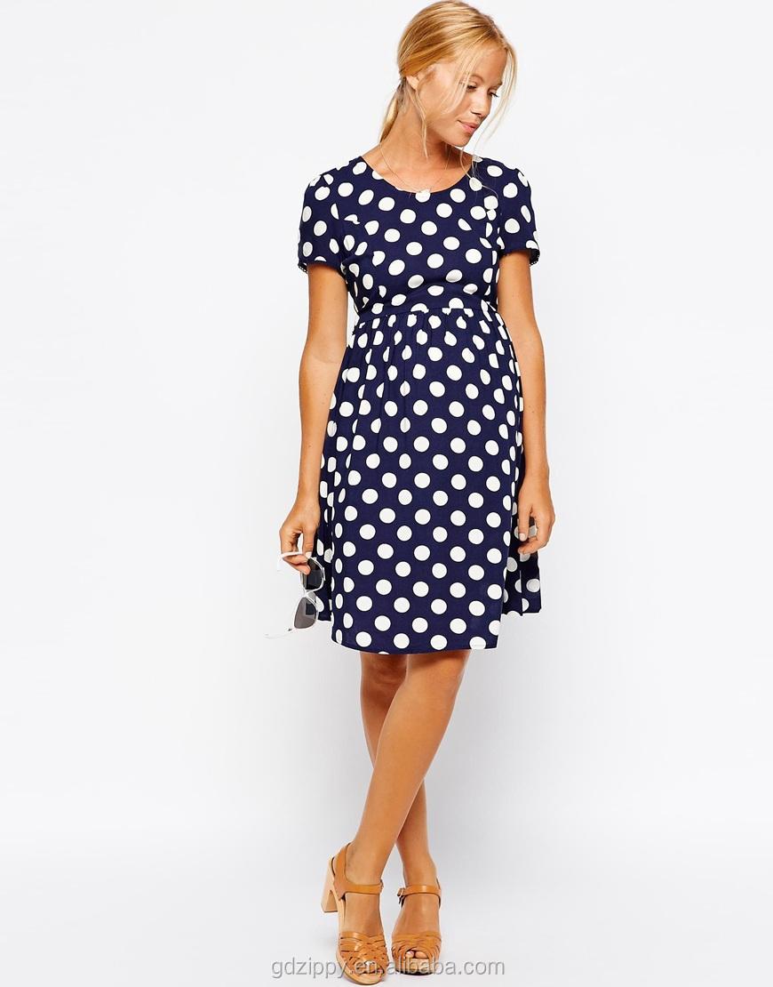 2014 new look short knee length polka dot maternity dress buy 2014 new look short knee length polka dot maternity dress ombrellifo Choice Image