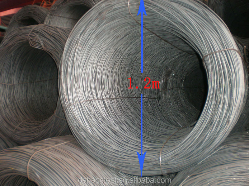 low carbon steel wire rod 6mm wire rod coil hs code