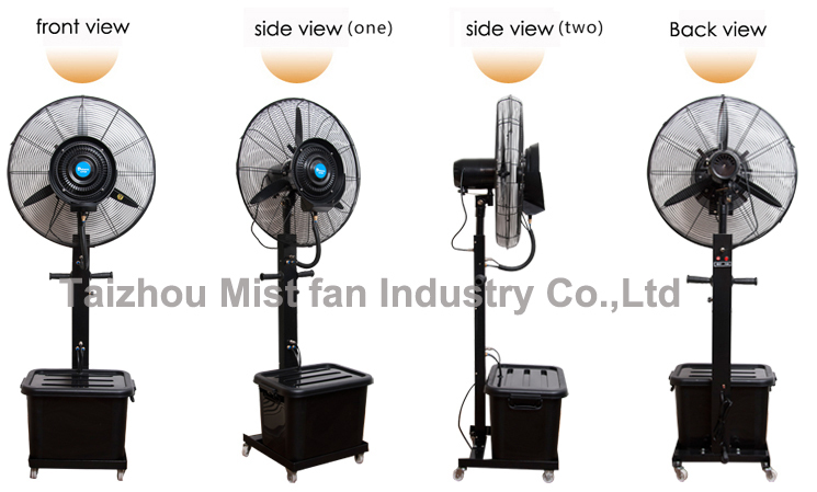 Industrial Water Cooling Fans : Debenz brand water fan industrial air cooling