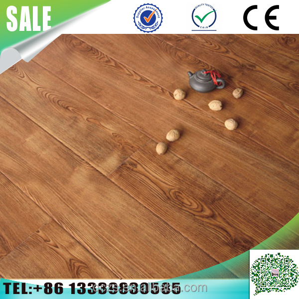 The new fashion Composite14mm industrial laminate <strong>flooring</strong> made in china