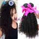 No Tangle No Shed Wholesale 8A Mink Kinky Curly Brazilian Human Hair Sew In Weave