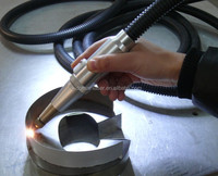 Large LED Letters Fiber handle 400w laser welding machine
