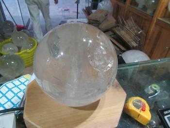 Lampada Cristallo Di Rocca Proprietà : Mm qualità molto buona naturale chiara sfera di cristallo di