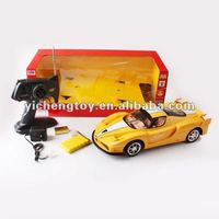 high speed 4CH with light rc race car