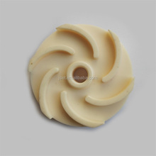 Industrial wear resistant ceramic impeller