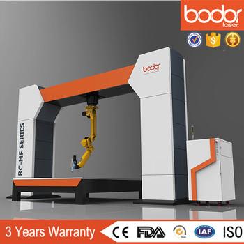 6 Axis 3d Fiber Laser Cutting Robot Machine - Buy 3d Laser Cutting ...