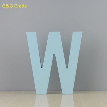 Diy Creative Wooden English Letter Model For Home Wedding