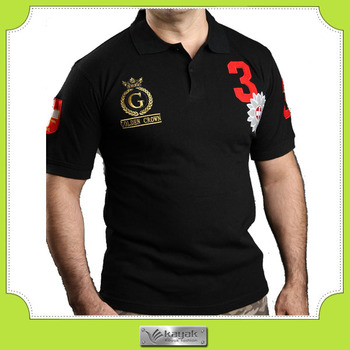 Custom High Quality Polo Shirt Embroidery Design Punching Buy Polo