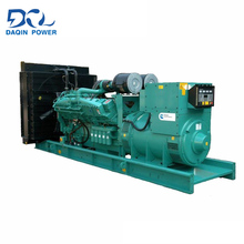 China manufacturer hot sale open type 15kw diesel generator set with original alternator