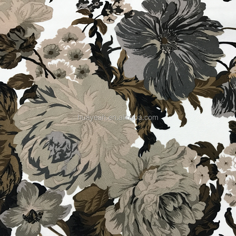 Burnout base flower velvet composition of plush fabric wholesale