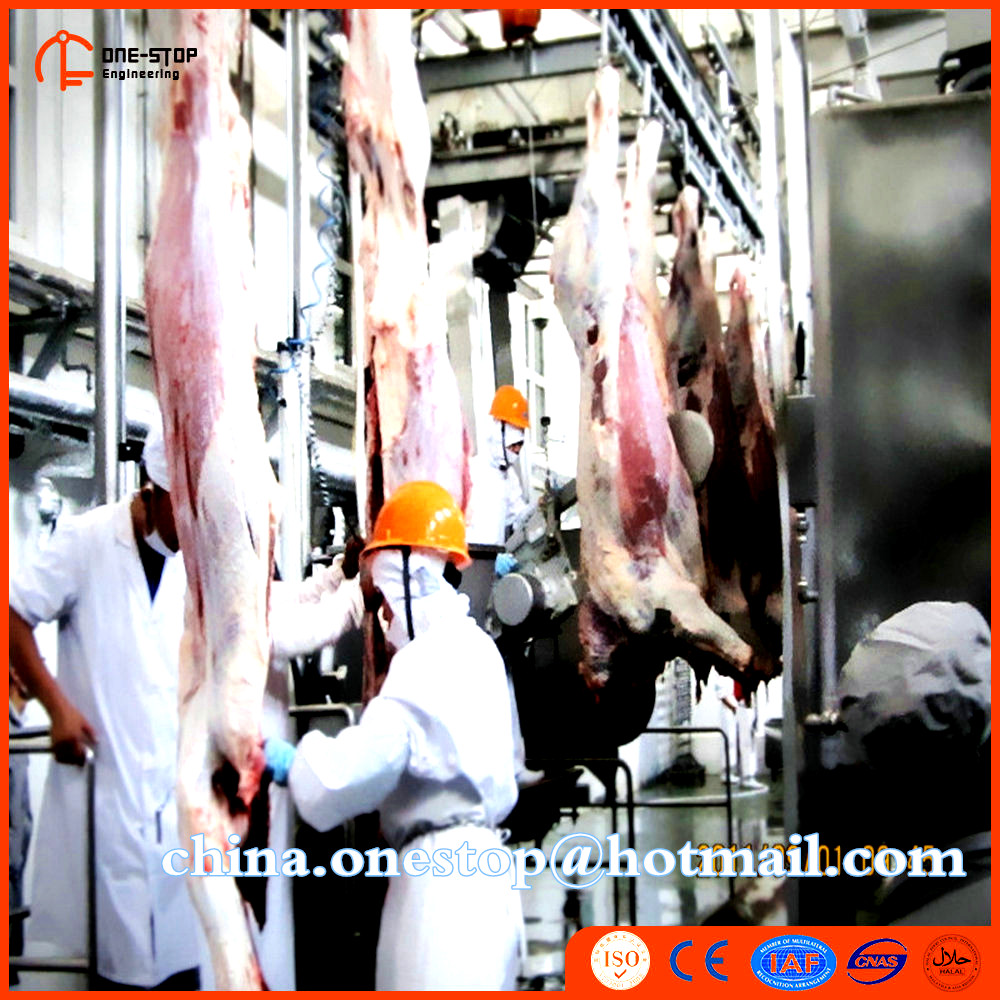 Halal Turkey Sheep Lamb Livestock Slaughterhouse Machine Goat Processing Equipment Plant Line