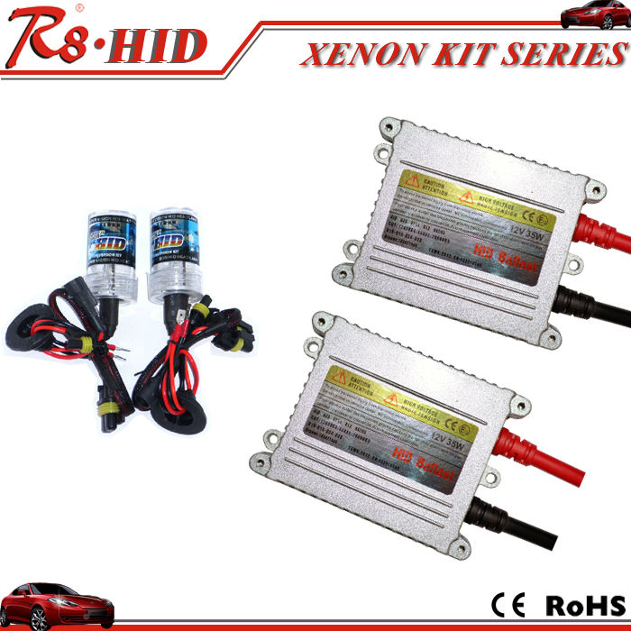 AC 12V 35W/55W hid kit slim silver ballast single beam h1 h3 h4-1 h7 h11 9005 9006 880